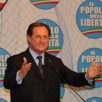 Foto Nicoloro G. 03/03/2012 Milano Congresso del PdL per l' elezione del coordinatore cittadino. nella foto Mario Mantovani
