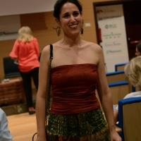 """Foto Nicoloro G.  29/06/2015   Milano   Nell' ambito di Expo 2015 un evento organizzato da We- Women for Expo e da Oxfam Italia dal titolo """" Io ho visto donne... """"', perchè si deve partire dalle donne per abbattere le barriere e battere la povertà. nella foto la scrittrice Pulsatilla."""