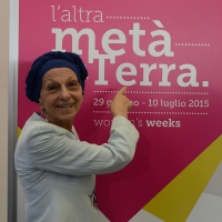 "Foto Nicoloro G.  29/06/2015   Milano   Nell' ambito di Expo 2015 un evento organizzato da We- Women for Expo dal titolo "" Nurturing a sustainable future ""'. nella foto Emma Bonino, presidente onorario di Women for Expo."