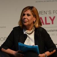 """Foto Nicoloro G.  29/06/2015   Milano   Nell' ambito di Expo 2015 un evento organizzato da We- Women for Expo dal titolo """" Nurturing a sustainable future """"'. nella foto la giornalista Maria Latella."""