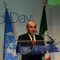 Foto Nicoloro G.   16/10/2015    Milano  In occasione della Giornata Mondiale dell' Alimentazione si e' svolto in Expo un incontro al quale hanno preso parte il Capo di Stato e il segretario generale delle Nazioni Unite. nella foto