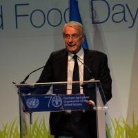Foto Nicoloro G.   16/10/2015    Milano  In occasione della Giornata Mondiale dell' Alimentazione si e' svolto in Expo un incontro al quale hanno preso parte il Capo di Stato e il segretario generale delle Nazioni Unite. nella foto il sindco Giuliano Pisapia.