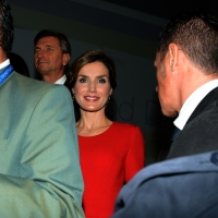 Foto Nicoloro G.   16/10/2015    Milano  In occasione della Giornata Mondiale dell' Alimentazione si e' svolto in Expo un incontro al quale hanno preso parte il Capo di Stato e il segretario generale delle Nazioni Unite. nella foto la regina Letizia di Spagna.
