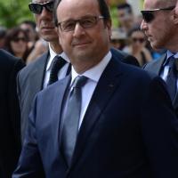 Foto Nicoloro G.  21/06/2015  Milano  Visita all' Expo del presidente della Repubblica francese. nella foto il presidente Francois Hollande.