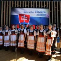 Foto Nicoloro G.  24/06/2015  Milano    Nell' ambito di Expo 2015 si è svolta la Giornata Nazionale della Slovacchia. nella foto un coro in costumi tradizionali.