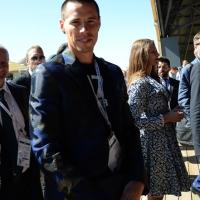 Foto Nicoloro G.  24/06/2015  Milano    Nell' ambito di Expo 2015 si è svolta la Giornata Nazionale della Slovacchia. nella foto il calciatore Marek Hamsik.