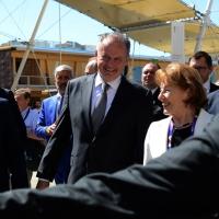 Foto Nicoloro G.  24/06/2015  Milano    Nell' ambito di Expo 2015 si è svolta la Giornata Nazionale della Slovacchia. nella foto il presidente slovacco Andrey Kiska.