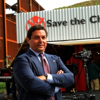 Foto Nicoloro G.   05/05/2015    Milano   Expo Milano 2015 si apre al mondo e si mette in mostra. nella foto il presidente di Save the Children Claudio Tesauro.