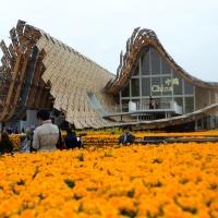 Foto Nicoloro G.   05/05/2015    Milano   Expo Milano 2015 si apre al mondo e si mette in mostra. nella foto il padiglione della Cina.