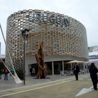 Foto Nicoloro G.   05/05/2015    Milano   Expo Milano 2015 si apre al mondo e si mette in mostra. nella foto il padiglione dell' Uruguay.