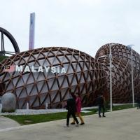 Foto Nicoloro G.   05/05/2015    Milano   Expo Milano 2015 si apre al mondo e si mette in mostra. nella foto il padiglione della Malaysia.