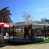 Foto Nicoloro G.   05/05/2015    Milano   Expo Milano 2015 si apre al mondo e si mette in mostra. nella foto lo stand di Swatch.