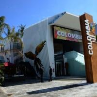 Foto Nicoloro G.   05/05/2015    Milano   Expo Milano 2015 si apre al mondo e si mette in mostra. nella foto il padiglione della Colombia.