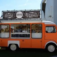 Foto Nicoloro G.   05/05/2015    Milano   Expo Milano 2015 si apre al mondo e si mette in mostra. nella foto uno dei Truck Food presenti all' Expo.