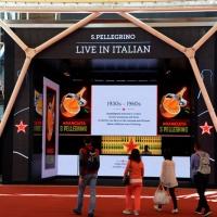 Foto Nicoloro G.   05/05/2015    Milano   Expo Milano 2015 si apre al mondo e si mette in mostra. nella foto lo stand San Pellegrino.