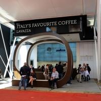 Foto Nicoloro G.   05/05/2015    Milano   Expo Milano 2015 si apre al mondo e si mette in mostra. nella foto lo stand Lavazza.