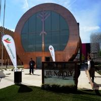 Foto Nicoloro G.   05/05/2015    Milano   Expo Milano 2015 si apre al mondo e si mette in mostra. nella foto il padiglione dell' Ungheria.