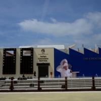 Foto Nicoloro G.   05/05/2015    Milano   Expo Milano 2015 si apre al mondo e si mette in mostra. nella foto il padiglione della Lindt.