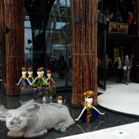 Foto Nicoloro G.   05/05/2015    Milano   Expo Milano 2015 si apre al mondo e si mette in mostra. nella foto il padiglione del Vietnam.