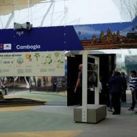 Foto Nicoloro G.   05/05/2015    Milano   Expo Milano 2015 si apre al mondo e si mette in mostra. nella foto il padiglione della Cambogia.