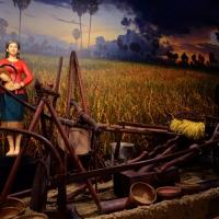 Foto Nicoloro G.   05/05/2015    Milano   Expo Milano 2015 si apre al mondo e si mette in mostra. nella foto all' interno del padiglione del Vietnam.