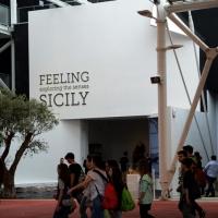 Foto Nicoloro G.   05/05/2015    Milano   Expo Milano 2015 si apre al mondo e si mette in mostra. nella foto lo stand della Sicilia.