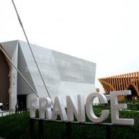 Foto Nicoloro G.   05/05/2015    Milano   Expo Milano 2015 si apre al mondo e si mette in mostra. nella foto il padiglione della Francia.