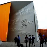 Foto Nicoloro G.   05/05/2015    Milano   Expo Milano 2015 si apre al mondo e si mette in mostra. nella foto il padiglione della Santa Sede.