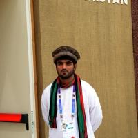 Foto Nicoloro G.   05/05/2015    Milano   Expo Milano 2015 si apre al mondo e si mette in mostra. nella foto addetto al padiglione dell' Afghanistan.
