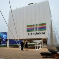 Foto Nicoloro G.   05/05/2015    Milano   Expo Milano 2015 si apre al mondo e si mette in mostra. nella foto il padiglione della Lituania.
