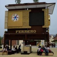 Foto Nicoloro G.   05/05/2015    Milano   Expo Milano 2015 si apre al mondo e si mette in mostra. nella foto una struttura della Ferrero.
