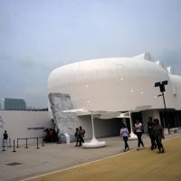 Foto Nicoloro G.   05/05/2015    Milano   Expo Milano 2015 si apre al mondo e si mette in mostra. nella foto il padiglione della Corea.