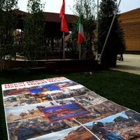Foto Nicoloro G.   05/05/2015    Milano   Expo Milano 2015 si apre al mondo e si mette in mostra. nella foto davanti al padiglione del Nepal.