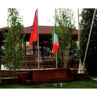 Foto Nicoloro G.   05/05/2015    Milano   Expo Milano 2015 si apre al mondo e si mette in mostra. nella foto il padiglione del Nepal.
