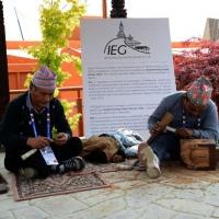Foto Nicoloro G.   05/05/2015    Milano   Expo Milano 2015 si apre al mondo e si mette in mostra. nella foto artigianato nel padiglione del Nepal.