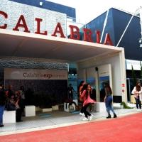 Foto Nicoloro G.   05/05/2015    Milano   Expo Milano 2015 si apre al mondo e si mette in mostra. nella foto lo stand della Calabria.