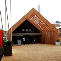 Foto Nicoloro G.   05/05/2015    Milano   Expo Milano 2015 si apre al mondo e si mette in mostra. nella foto il padiglione del Belgio.