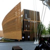 Foto Nicoloro G.   05/05/2015    Milano   Expo Milano 2015 si apre al mondo e si mette in mostra. nella foto il padiglione dell' Irlanda.