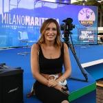 Foto Nicoloro G.   31/07/2020   Cervia ( Ra )  Prima serata della Festa della Lega Romagna. nella foto la senatrice Lucia Bergonzoni.