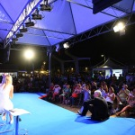 Foto Nicoloro G.   31/07/2020   Cervia ( Ra )  Prima serata della Festa della Lega Romagna. nella foto un momento della serata di dibattito.