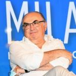 Foto Nicoloro G.   01/08/2020    Cervia ( RA ) Seconda serata della Festa della Lega Romagna che ha visto la presenza del leader del Carroccio. nella foto Maurizio Gardini, presidente Confcoperative.