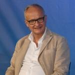 Foto Nicoloro G.   01/08/2020    Cervia ( RA ) Seconda serata della Festa della Lega Romagna che ha visto la presenza del leader del Carroccio. nella foto il direttore del Resto del Carlino Michele Brambilla.