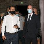 Foto Nicoloro G.   04/08/2020  Cervia ( RA )   Ultima giornata della Festa della Lega Romagna. nella foto il segretario della Lega Romagna Jacopo Morrone, a sinistra, e il governatore del Veneto Luca Zaia.