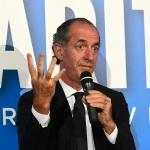 Foto Nicoloro G.   04/08/2020  Cervia ( RA )   Ultima giornata della Festa della Lega Romagna. nella foto il governatore del Veneto Luca Zaia.