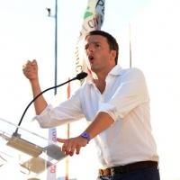 Foto Nicoloro G. 30/08/2013 Borgo Sisa ( Ravenna ) Festa del PD con l' intervento del sindaco di Firenze Matteo Renzi. nella foto Matteo Renzi