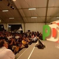 Foto Nicoloro G. 02/09/2013 Bologna Festa del PD di Bologna con l' intervento del sindaco di Firenze Matteo Renzi. nella foto Matteo Renzi e una veduta della platea