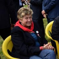 Foto Nicoloro G. 25/04/2013 Marzabotto ( Bologna ) Celebrazione della Festa della Liberazione in questo paese che durante la Seconda guerra mondiale subì una strage perpetrata dai nazisti. nella foto Il Segretario della CGIL, Susanna Camusso