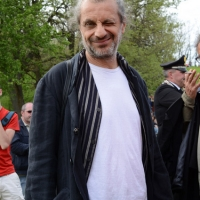 Foto Nicoloro G. 25/04/2013 Marzabotto ( Bologna ) Celebrazione della Festa della Liberazione in questo paese che durante la Seconda guerra mondiale subì una strage perpetrata dai nazisti. nella foto Alessandro Bergonzoni