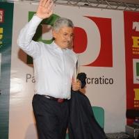 """Foto Nicoloro G. 17/06/2011 Bagnacavallo (RA) """" Festa della politica """" organizzata dal PD tra dibattiti, mostre e cucina regionale. nella foto Massimo D'Alema"""