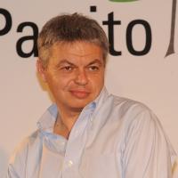 """Foto Nicoloro G. 17/06/2011 Bagnacavallo (RA) """" Festa della politica """" organizzata dal PD tra dibattiti, mostre e cucina regionale. nella foto Luca Sofri"""